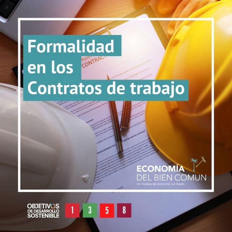 Derechos laborales, Formalidad en los Contratos de trabajo
