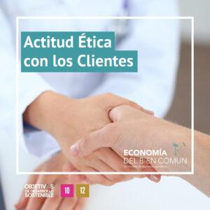Actitud Etica con los clientes